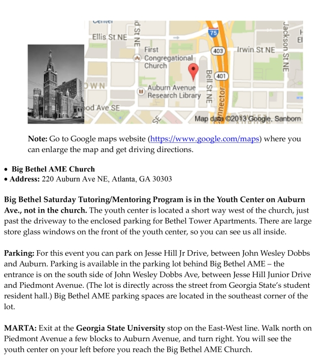 Microsoft Word - Parking info for BB Event.docx