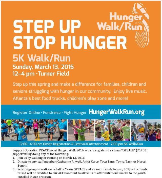 Hunger Walk OPEACE